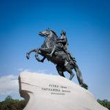 Statue von Peter das große Stockfotografie
