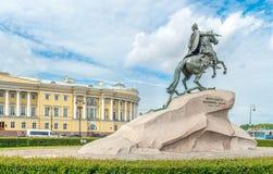 Statue von Peter der Große Lizenzfreies Stockbild