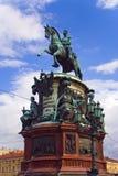 Statue von Peter I Stockfoto