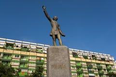 Statue von Petofi Sandor in Ungarn Stockfotografie