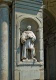 Statue von Pier Capponi in Galeria-degli Uffizi. Florenz, Italien Lizenzfreies Stockbild