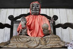 Statue von Pindola Bharadvaja Binzuru Lizenzfreies Stockfoto