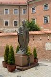 Statue von Pope John Paul Ii Lizenzfreie Stockfotografie
