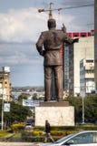 Statue von Präsidenten Samora von Mosambik in Maputo Lizenzfreies Stockfoto