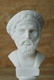 Statue von Pythagorase, von altgriechischem Mathematiker und von Geometer Lizenzfreie Stockfotos