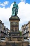 Statue von Robert Melville in Schottland Stockfoto