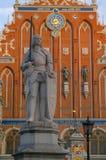 Statue von Roland Stockfoto