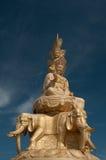 Statue von Samantabhadra Bodhisattva auf Montierung Emei Lizenzfreie Stockfotos
