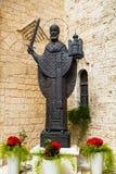 Statue von Sankt Nikolaus Stockbild