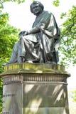 Statue von Simpson in Edinburgh Schottland Lizenzfreies Stockfoto