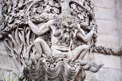 Statue von Sintra, Portugal stockfoto