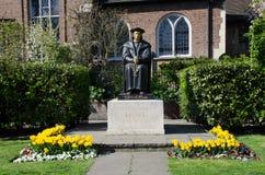 Statue von Sir Thomas Moore an Chelsea Old-Kirche Stockbild
