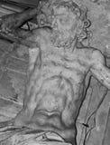 Statue von Sisyphus Lizenzfreie Stockfotografie
