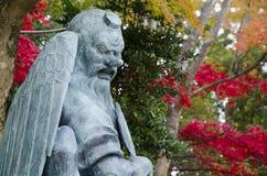 Statue von Tengu lizenzfreies stockbild