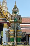 Statue von thailändischen riesigen Yak Lizenzfreies Stockbild