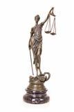 Statue von Themis Lizenzfreie Stockfotos