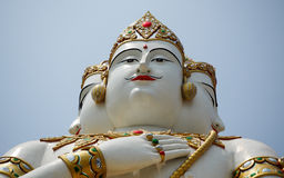 Statue von Vishnu Stockfoto