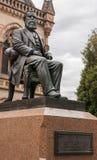 Statue von Walter Watson Hughes, Adelaide Australia Stockbilder