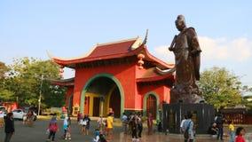 Statue von Zheng He stockfotografie