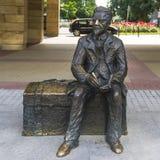 Statue of Władysław Reymont Royalty Free Stock Image