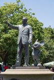 Statue of Walt Disney and Mickey Mouse  at Disneyland Park, Anaheim Royalty Free Stock Images