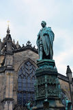 Statue of Walter Francis Montague Douglas Scott, Edinburgh, Scot Stock Photo
