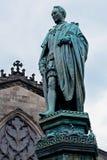 Statue of Walter Francis Montague Douglas Scott, Edinburgh, Scot Stock Images