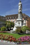 Statue of Walther von der Vogelweide in Bolzano Stock Photography