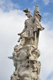 Statue of Warrior Bratislava Royalty Free Stock Photo