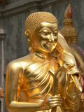 Statue, Wat Doi Suthep, Chiang Mai, Thailand. Wat Doi Suthep near Chiang Mai is a Buddhist temple, built on the site where an elephant carrying a sacred relic stock images