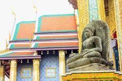 Statue in wat phar keaw Royalty Free Stock Photos