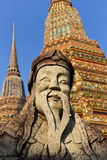 Statue at Wat Pho, Bangkok Royalty Free Stock Images