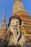 Statue at Wat Pho, Bangkok Royalty Free Stock Images