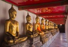 Statue WatPho de Bouddha Photographie stock