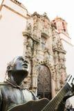 Statue, welche die berühmten Durchgänge von Guanajuato darstellt stockfotos