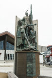 Statue in Wellington-Ufergegend, Neuseeland Lizenzfreie Stockfotos