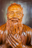 Statue Wen Miao confucius temple shanghai china Royalty Free Stock Image