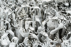 Statue white art hell Stock Photos
