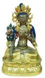 Statue of White Tara Stock Images
