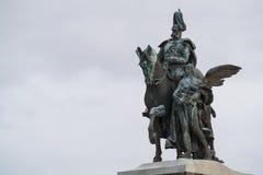 Statue Wilhelm Coblence images libres de droits