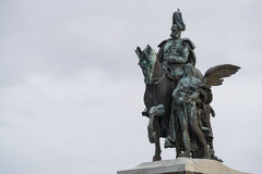 Statue wilhelm koblenz Royalty Free Stock Images