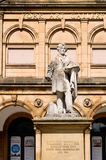 Statue of William Etty in front of York Art Gallery Royalty Free Stock Photography