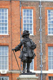 Statue of William III in front of Kensington Palace in Kensington Gardens,  London, United Kingdom Stock Images