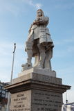 Statue of William of Orange in Brixham, Devon Stock Images