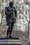 Statue of William Shakespeare Royalty Free Stock Photography