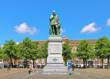 Statue of William the Silent on Het Plein square of The Hague Royalty Free Stock Images