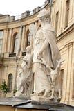 Statue Wisdom near Big Gatchina Palace. Royalty Free Stock Images