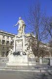 Statue of Wolfgang Amadeus Mozart Stock Image