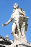 Statue of Wolfgang Amadeus Mozart in Vienna Stock Photography
