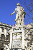 Statue of Wolfgang Amadeus Mozart Royalty Free Stock Images